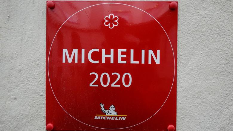Michelin 2020 sign