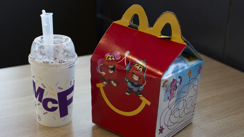 happy meal and mcflurry