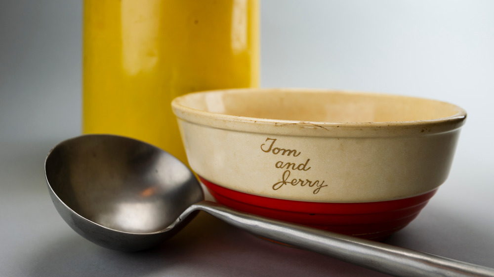 Tom and Jerry bowl and ladle