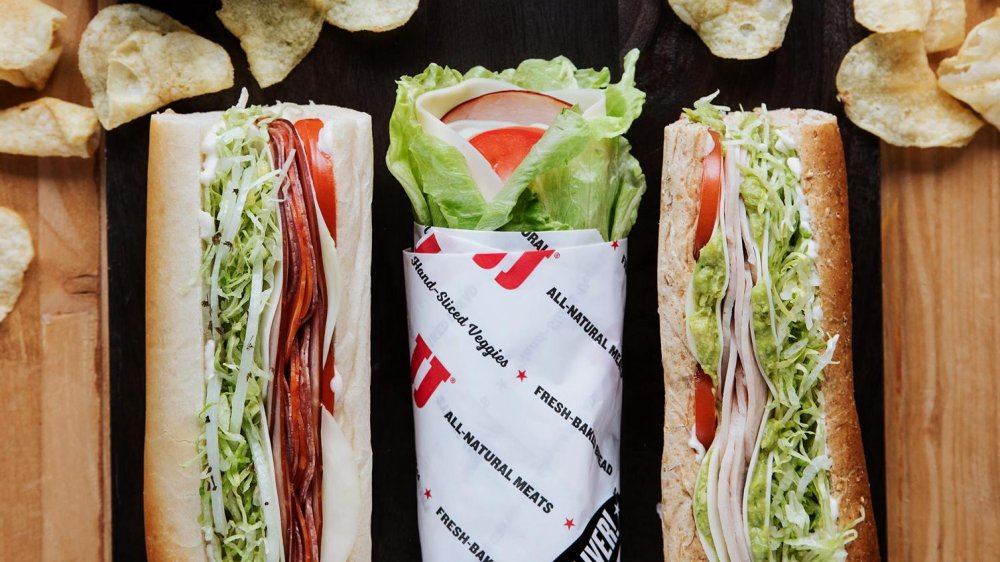 Customizable sandwiches options from Jimmy John's