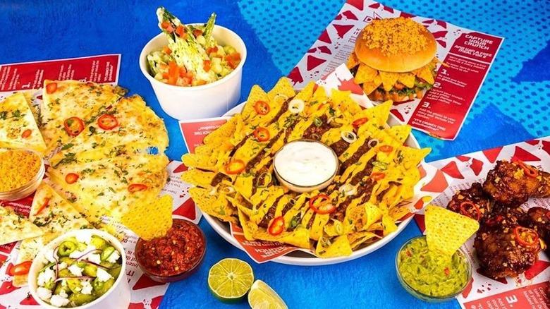 Doritos diner menu offerings