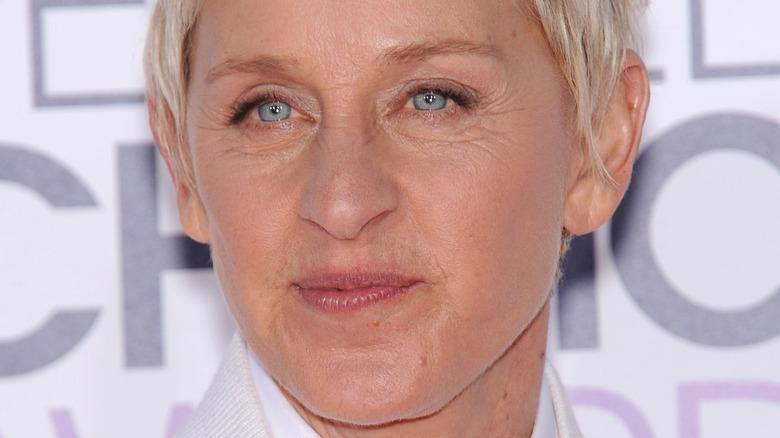 Ellen DeGeneres posing