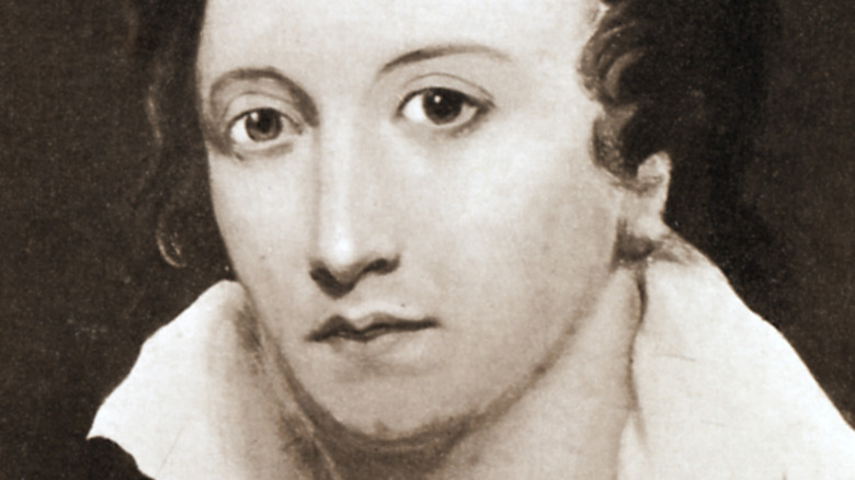 Percy Bysshe Shelley portrait