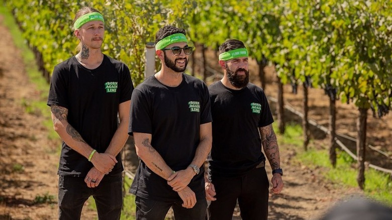 Born From The Lime Truck crew