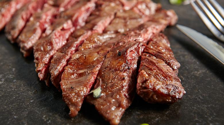 Flank steak cooking rule