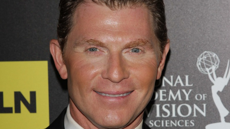 Bobby Flay at Emmys event