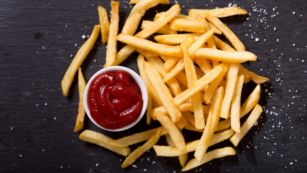 Salty french fries