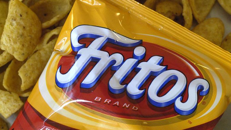 Bag of Fritos corn chips