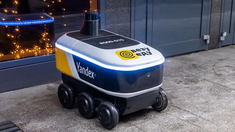 Yandex robot