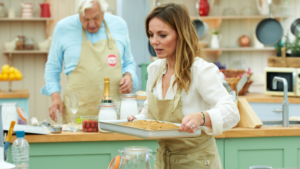 Participants on The Great British Baking Show