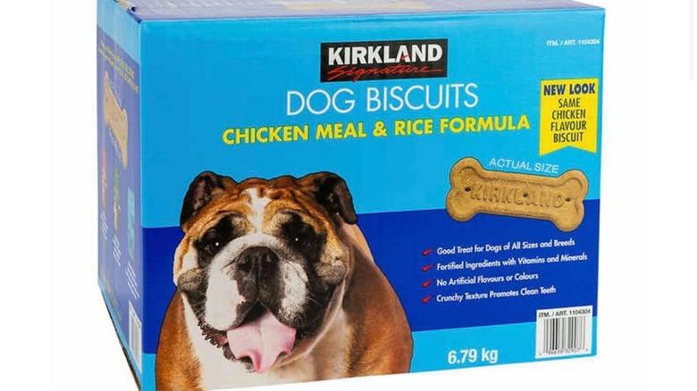 Kirkland Chicken Meal & Rice Formula Dog Biscuits