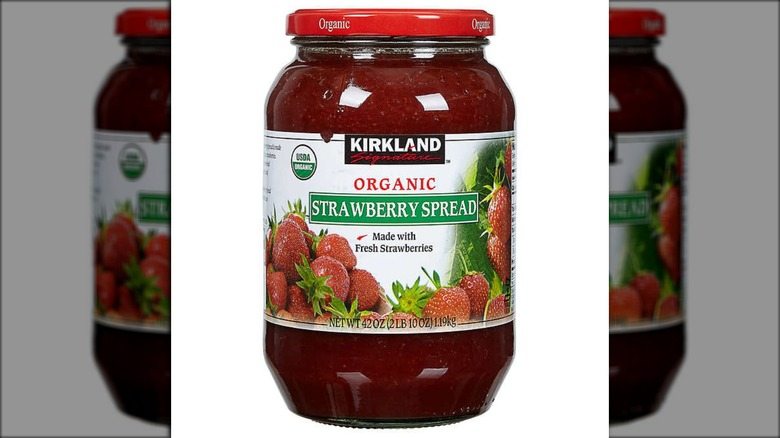 Kirkland strawberry spread jar