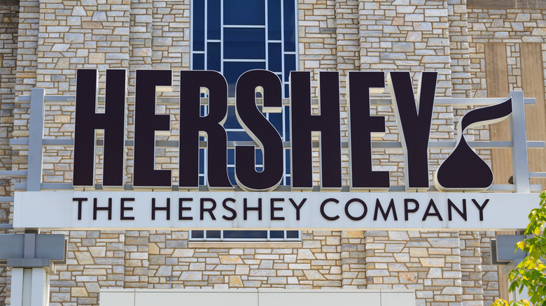 The Hershey Company sign
