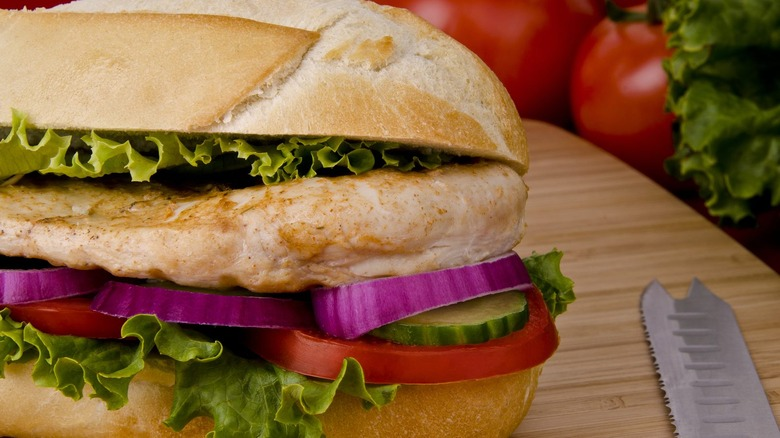 Subway Oven-Roasted Chicken Sub