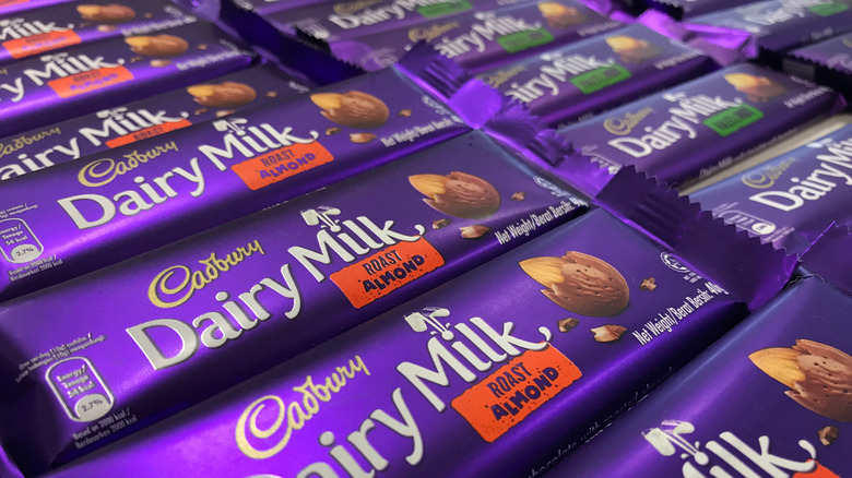 Cadbury Dairy Milk bars