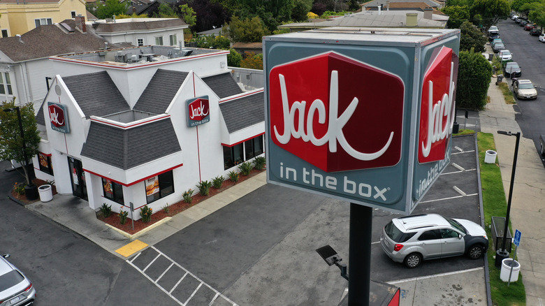 Jack in the Box sign
