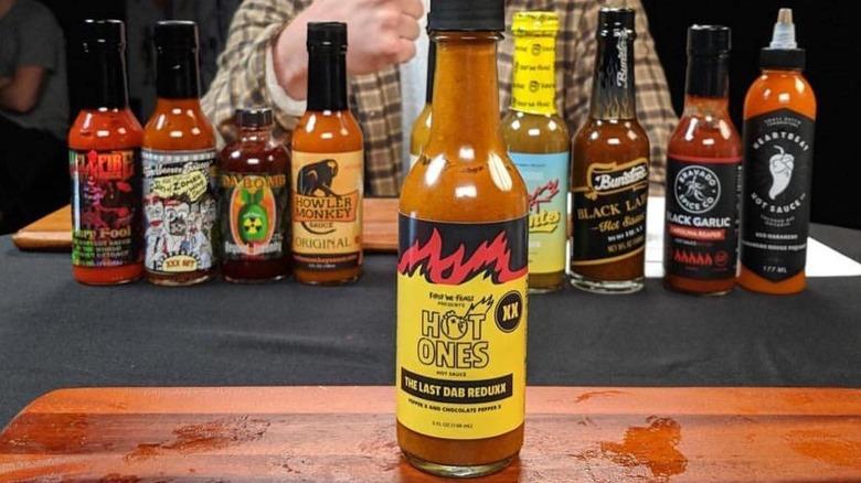 Hot Ones hot sauce