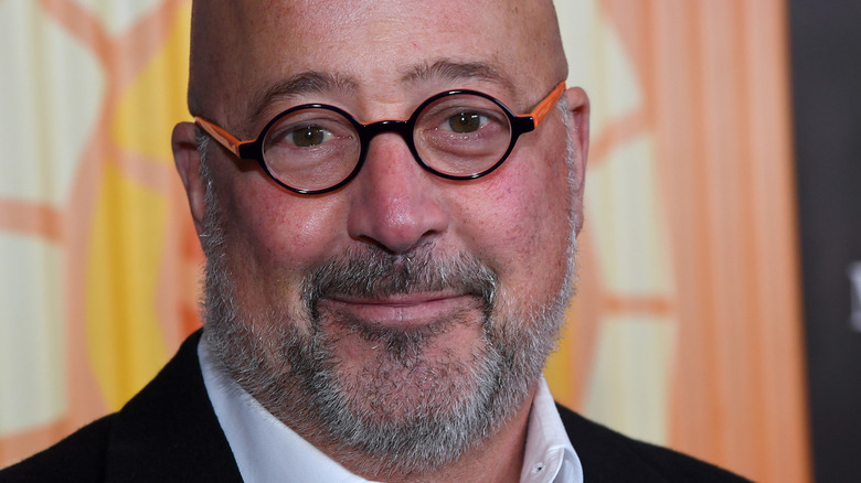 andrew zimmern close up