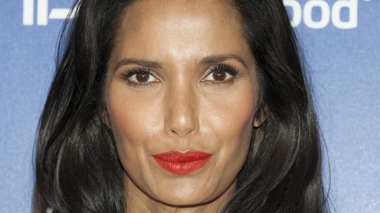 Closeup of Padma Lakshmi