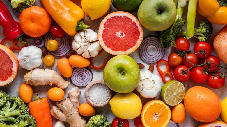 Immunity boosting food items