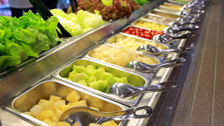 grocery store salad bar
