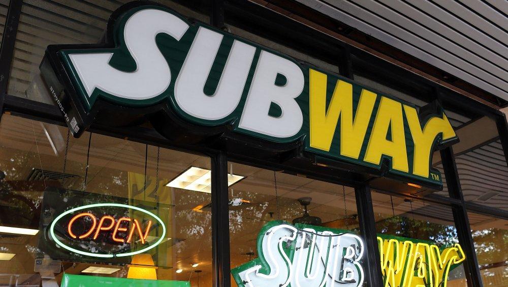 Subway storefront
