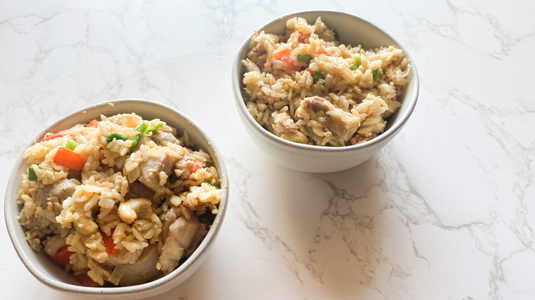 bowls of Thai fried rice