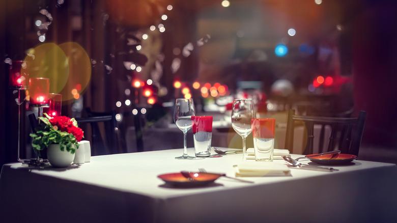 fancy diner