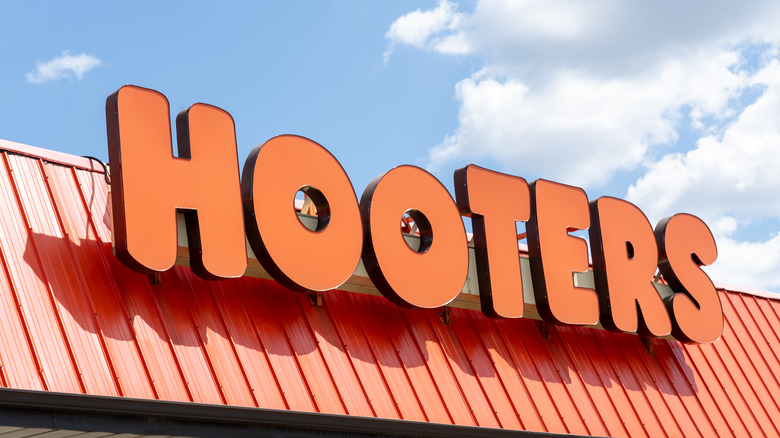Outside of a Hooters
