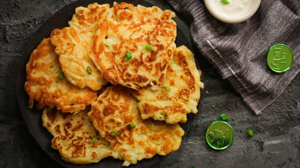 Irish potato pancake