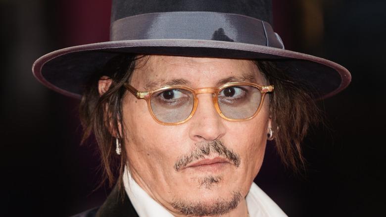 Johnny Depp attends event
