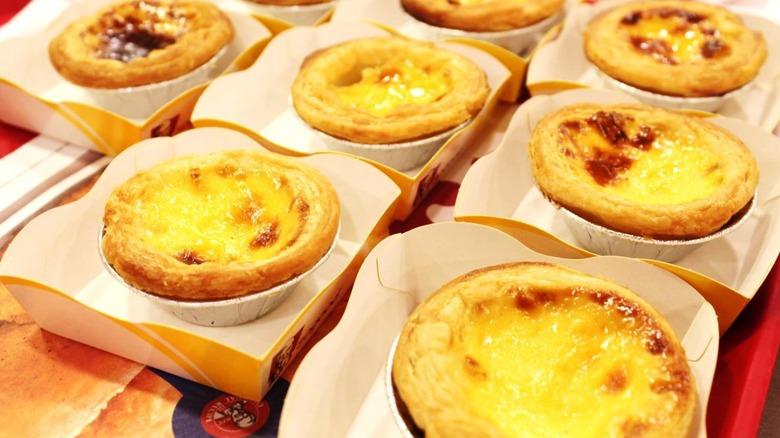 KFC Singapore Portuguese egg tarts