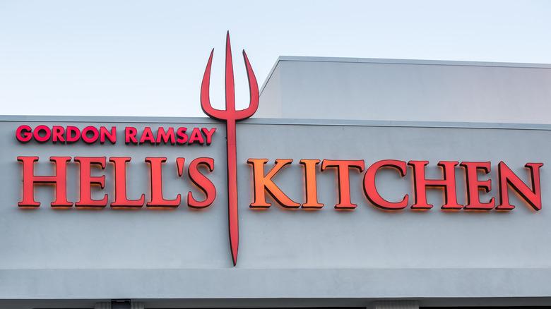 Gordon Ramsay's Hell's Kitchen restaurant