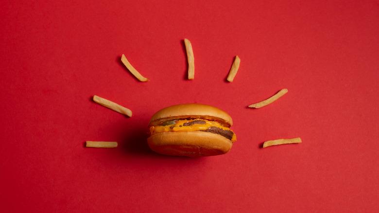 McD's burger