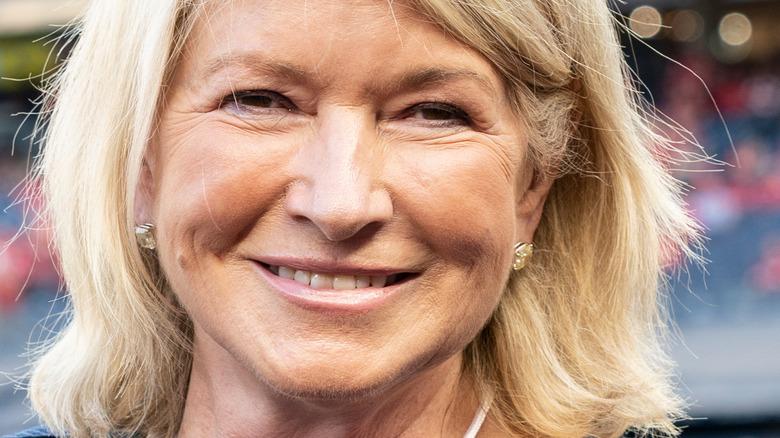Martha Stewart with natural makeup