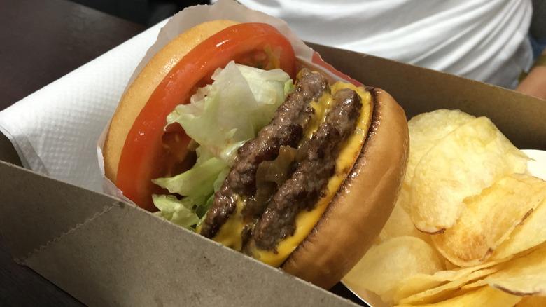 In-N-Out Triple Burger on the secret menu