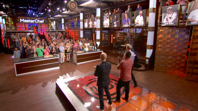 Contestants and family members of MasterChef: Legends