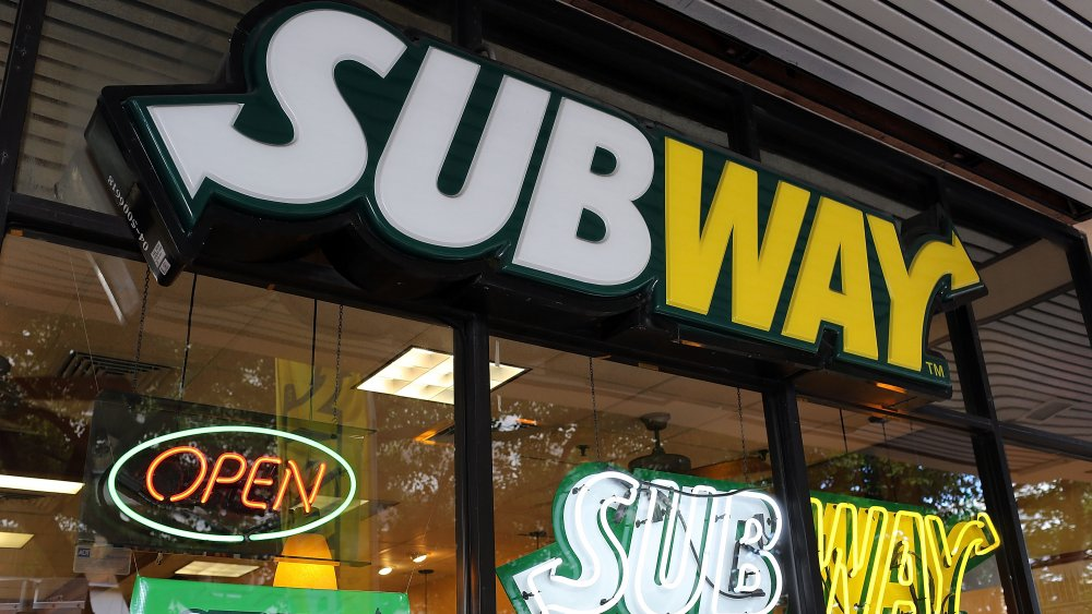 A generic image of a Subway outlet