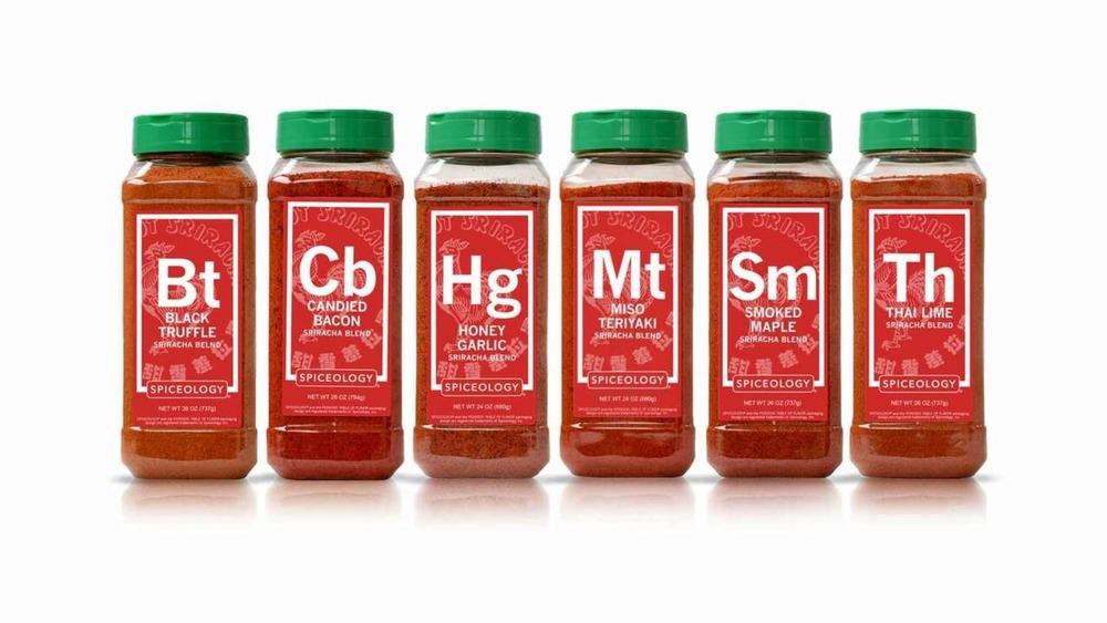 Spiceology/Huy Fong spice blends