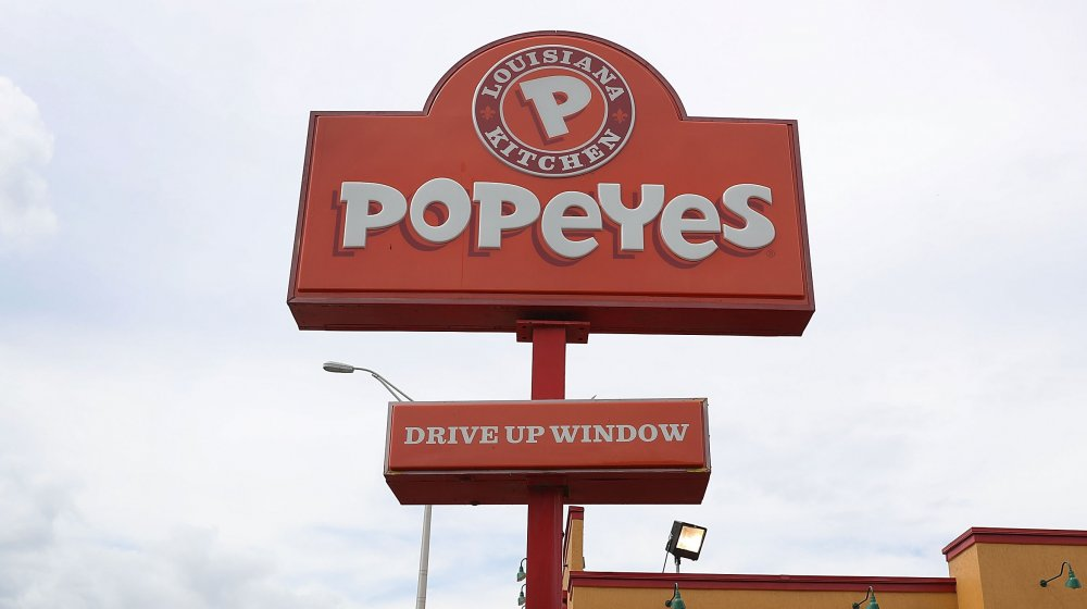 Popeyes restaurant