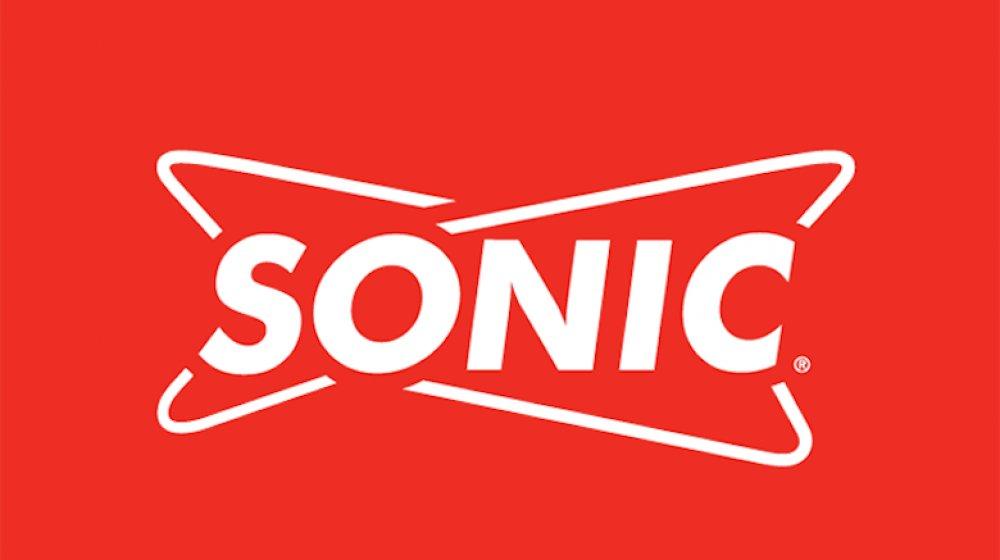 red Sonic logo