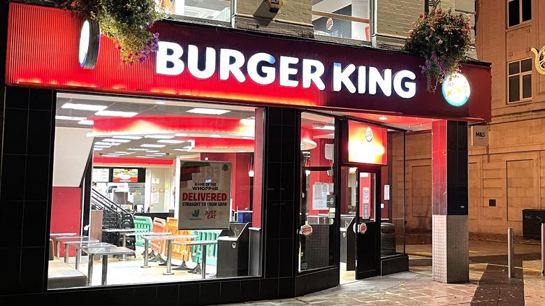 Burger King UK location