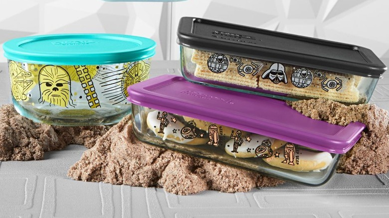 New Pyrex Star Wars storage containers
