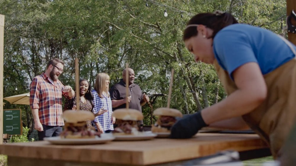 Stills from the American Barbecue Showdown