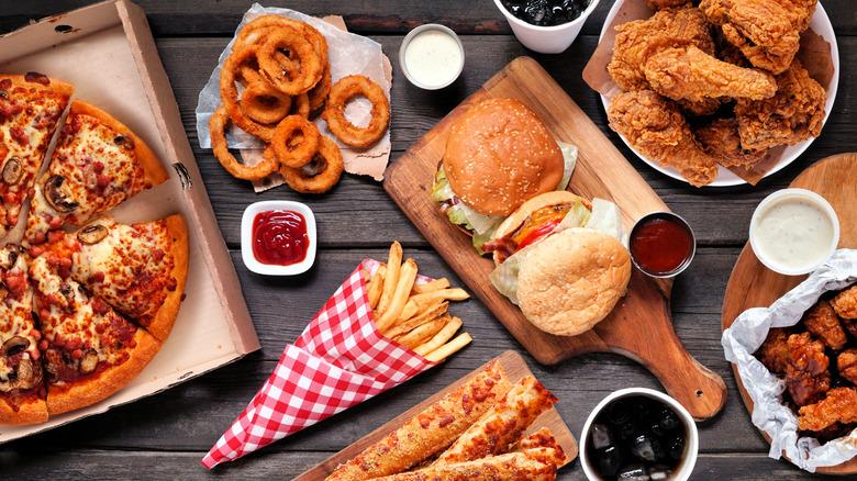 Fast food feast