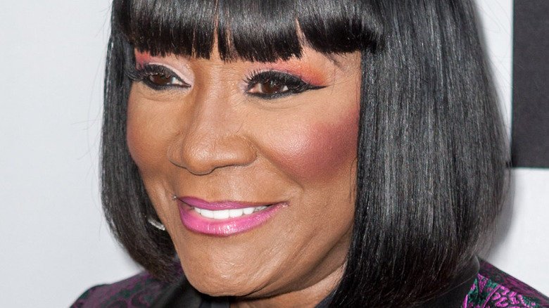 Patti LaBelle glammed up and smiling