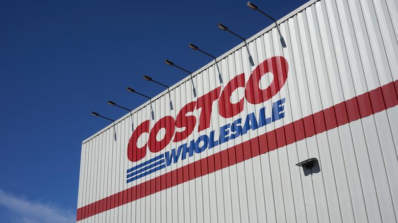 Exterior of a Costco building