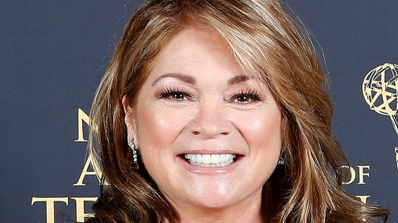 Valerie Bertinelli close-up and smiling