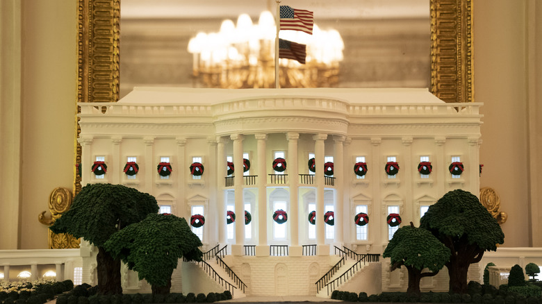 The 2020 White House gingerbread house