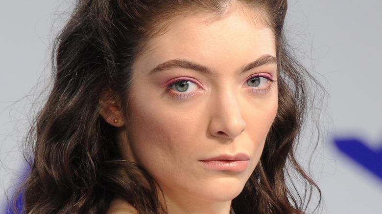 Lorde at MTV music awards